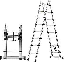 Telescoping Ladder 5M A Frame Telescopic Ladder