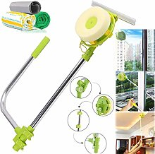 Telescoping Window Cleaner with Extra Long 1.4m