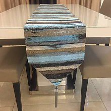 Telihome Table Runner High Precision Colored Table