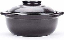 TELLMNZ Clay Casserole Pot Terracotta Stew Pot
