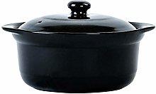 TELLMNZ Cookware Terracotta Clay Casserole Pot
