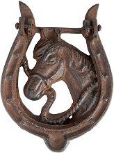 Temescal Door Knocker Horse Sol 72 Outdoor
