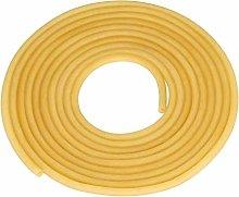 TEN-HIGH Natural Latex Rubber Tubing, 5 Meters