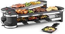 Tenderloin 50/50 Raclette Grill 1200W 8 Persons