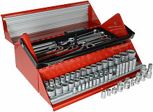Teng TC187 Mega Rosso Tool Kit Set of 187 1/4 3/8