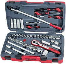Teng Tools - Teng T1244 44 Pieces 1/2in Drive