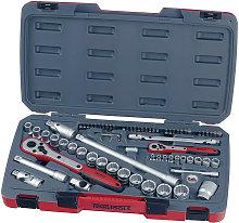 Teng Tools - Teng Tool T1272 72 Piece 1/4In &