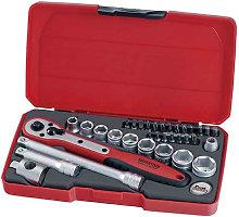 Teng Tools - Teng Tool T3834 3/8 inch Socket Set