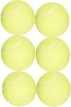 Tennis Balls (Pack Of 6) (Green) - Animal Instincts