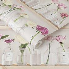 Tenny 10m x 53cm Matte Wallpaper Roll Fleur De Lis