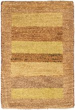 Tennyson Handwoven Wool Yellow/Brown