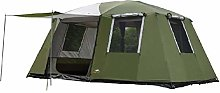 Tent 1Hall Two Bedrooms 6-12 Persons Double Layers