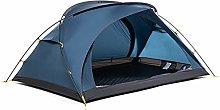 Tent 2 Persons Double Door Tents Nylon Fabric