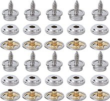 Tent Buckle Copper Screw Snap Fasteners 10 Sets