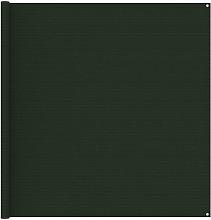Tent Carpet 200x400 cm Dark Green