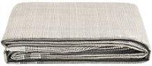 Tent Carpet 250x250 cm Dark Grey - Grey - Vidaxl