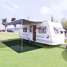 Tent Carpet 250x500 cm HDPE Green - Green