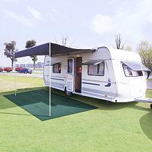 Tent Carpet 300x300 cm Green