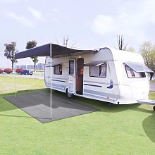 Tent Carpet 300x300 cm Light Grey