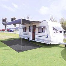 Tent Carpet 300x600 cm Anthracite - Anthracite