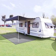 Tent Carpet 300x600 cm Light Grey