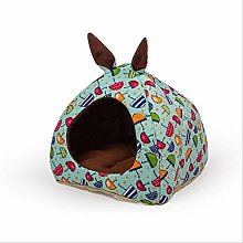 Tent Dog House Warm Cats Cage Puppy Teepee