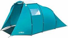 Tent Family Dome 4 Blue - Blue - Pavillo