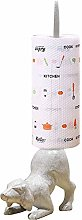 TentHome Cast Iron Kitchen Dispenser Roll Holder