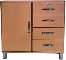 TENZO Designer Cabinet, Copper, 92 x 98 x 41 cm
