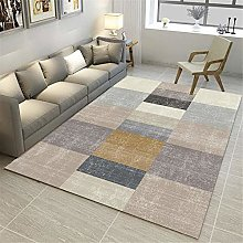 TEPPICH-CY-ZK Carpet Durable Rug Mottled Grey