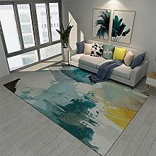 TEPPICH-CY-ZK Carpet Durable Sofa Rugs Mustard