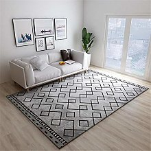 TEPPICH-CY-ZK Carpets Easy To Clean Rugs Black