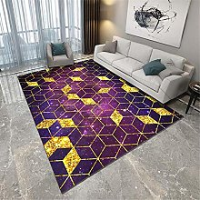 TEPPICH-CY-ZK Carpets Fade-Resistant Rug Purple