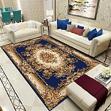 TEPPICH-CY-ZK Large Rug Luxury Blue Vintage