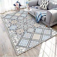 TEPPICH-CY-ZK Modern Soft Carpet Living Room-Blue