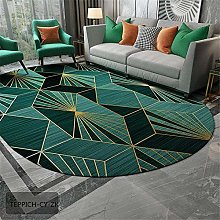 TEPPICH-CY-ZK Modern Style Living Room Rug-Green