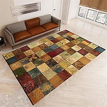 TEPPICH-CY-ZK Rug Fade-Resistant Rugs Green red