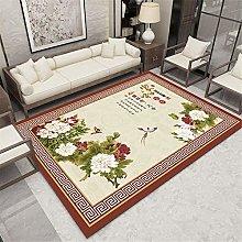 TEPPICH-CY-ZK Rug Modern Design Floor Rug Red