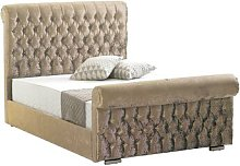 Terence Upholstered Bed Frame Willa Arlo Interiors