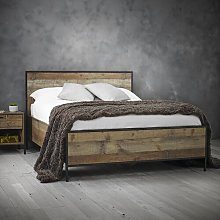 Terrence Double (4'6) Bed Frame Williston Forge