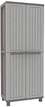 Terry Jwood 268Tall Wardrobe, with Shelves,
