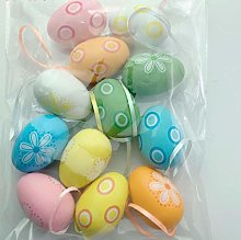 Tescogo Easter Eggs Easter Tree gift decoration