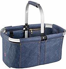 Tescoma 906161 Folding Shopping Basket Denim