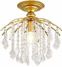 Tesysyet Crystal Ceiling Light, Crystal Chandelier