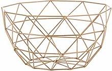 TETHYSUN Kitchen storage rack Storage Baskets Gold