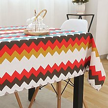 TEWENE Cotton Linen Table Cloths, Rectangular