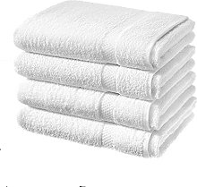 TEXTILE ARENA LUXURY 4 PACK BATH SHEETS 100%