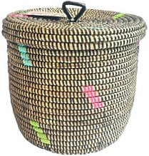 Textile Candy - Handwoven Colourful Storage Basket