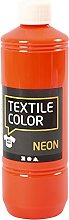 Textile Color, neon Orange, 500ml