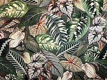 Textile London Floral Italian Velvet Botanical